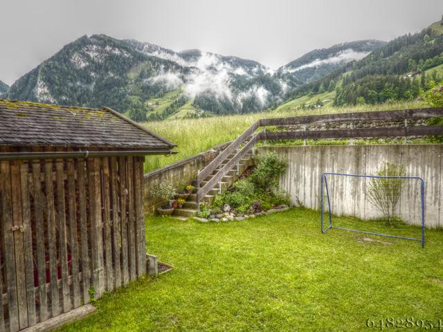 Ein Hudora Fussballtor in den Bergen, why not