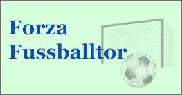 Forza Fussballtor für Haus & Garten