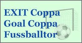 Das EXIT Coppa Goal Coppa Fußballtor inkl. Torwand wird dein Hobby bestens unterstützen