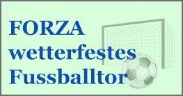 FORZA wetterfestes Fußballtor für alle Tage